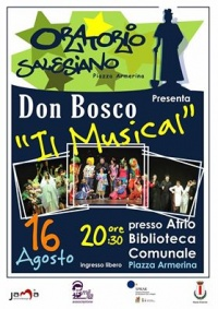 "Il musical ""Don Bosco"" dell'oratorio salesiano di Piazza Armerina"