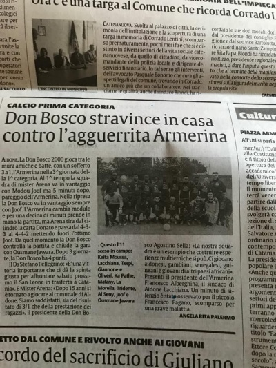 Vittoria dell'ASD Don Bosco 2000